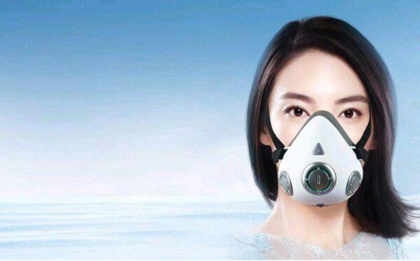 ماسک فن دار تصفیه هوا