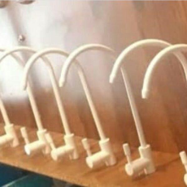 شیر عصایی رنگی اهرمی تصفیه آب